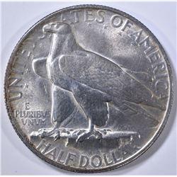 1935 CONNECTICUT COMMEM HALF DOLLAR  CH BU