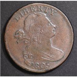 1805 LARGE CENT  AU+