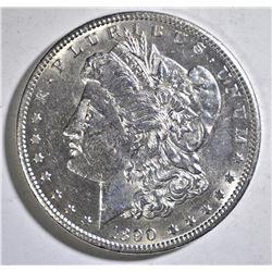 1890-CC  MORGAN DOLLAR BU  SCRATCH OBV