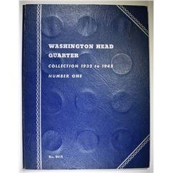 CIRC SET OF WASHINGTON QUARTERS 1932-45-S COMPLETE