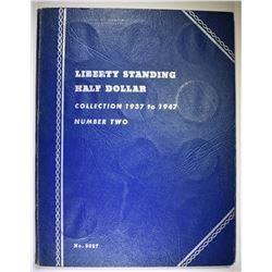 CIRC WALKING LIBERTY HALF DOLLAR SET: 1937-47