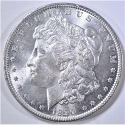 1890 MORGAN DOLLAR, CH BU