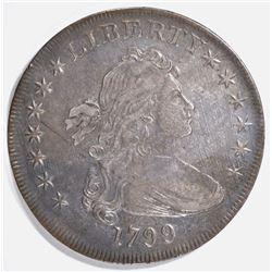 1799 BUST DOLLAR, XF/AU