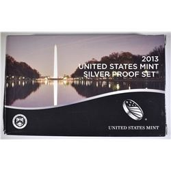 2013 U.S. SILVER PROOF SET ORIG PACKAGING