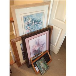 Framed Signed Prints & More