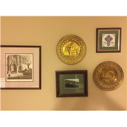 Assortment of Framed Pictures, Print & and more A