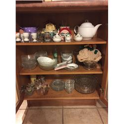 Assortment of Glassware And Kitchen Items A