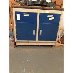 Rolling Metal Cabinet C