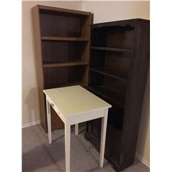 Bookcases & White Table C