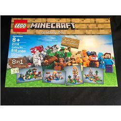 Lego Minecraft 8 in 1 Crafting Box 21116