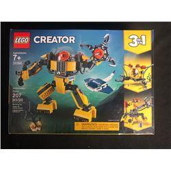 Lego Creator 31090 Underwater Robot 3 in 1 (207 Pieces)
