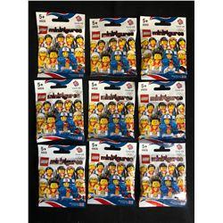 Lego Olympic Team GB Minifigure Lot 8909 (One Minifigure per Bag)