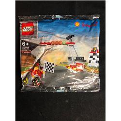 Lego Polybag Shell Team Racing Finish Line & Podium 40194