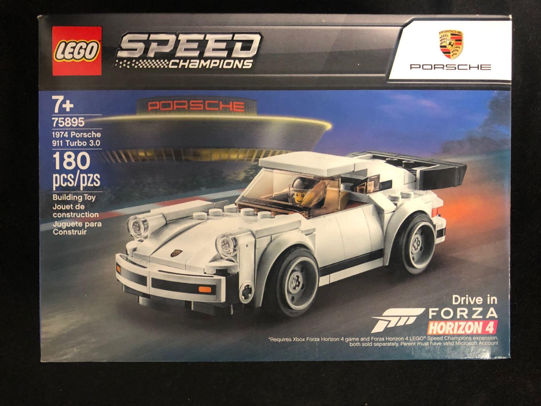 1974 Porsche 911 Turbo 3.0 Lego 75895 Speed Champions