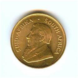 1 oz. Gold Kruggerand - 24k Pure