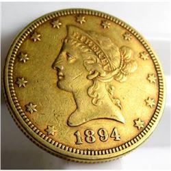 1894 $ 10 Gold Liberty Eagle
