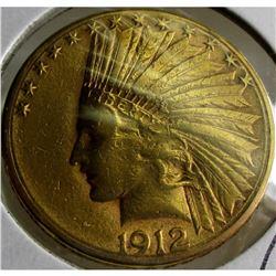 191 S $ 10 Gold Indian Eagle