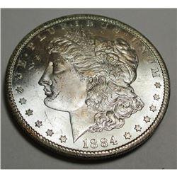 1884 Carson City CC Morgan Dollar CH BU