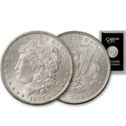 1883 CC GSA Morgan Silver Dollar -