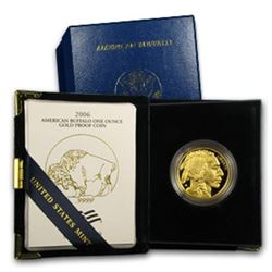 2006 US Gold Buffalo Proof OMB