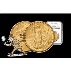 1908 NM MS 64 NGC $20 Gold Saint Gaudens