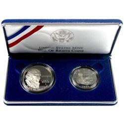 1993 James Madison 2 coin Commemorative