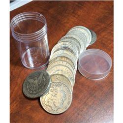 20 pcs. Random Date/Grade Morgan Dollars In tube