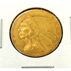 1909 s $ 5 Gold Indian