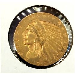 1912 $ 5 Gold Indian
