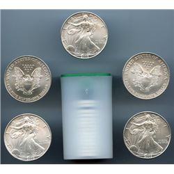 (20) Silver US Eagles - Mint Tubed