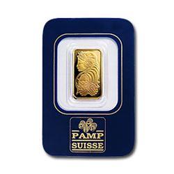 2.5 Gram Pamp Suisse Gold Ingot