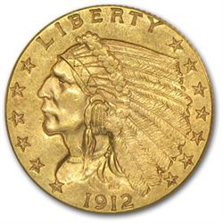 $2.5 Indian Head US Gold - Random