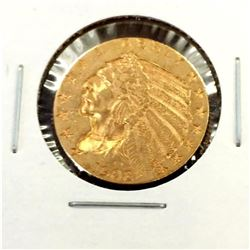 1908 $ 5 Gold Indian