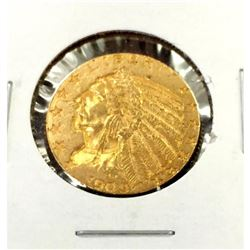 1909 $ 5 Gold Indian