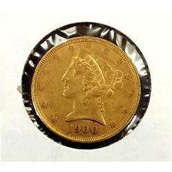 1900 $ 5 Gold Liberty