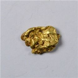 1.74 Gram Natural Alluvial Gold Nugget