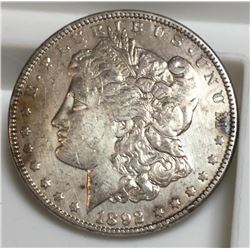 1892 O RARE KEY DATE XF Morgan Dollar