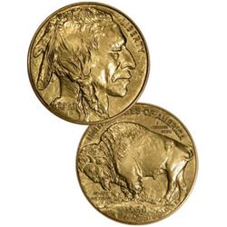 Random Date BU 1 oz Gold Buffalo 24k Bullion