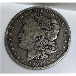 1894 -O- Key Date Morgan Dollar