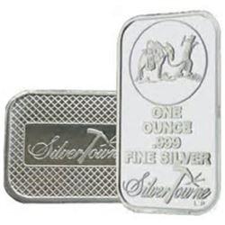 1 oz. Prospector Silver Bar -.999 Pure