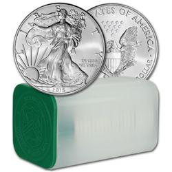 US Mint Roll - 2016 Silver Eagles - 20 pcs