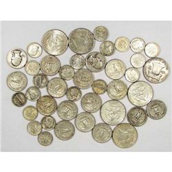 $9 Face Value Mixed Type Silver Coins