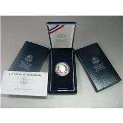 1990 Ike Silver Proof Commemorative