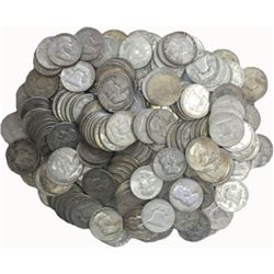 100 Franklin Half Dollars - 90% Silver