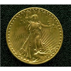 1924 S Better Date $20 Gold Saint Gaudens XF Plus