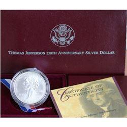 Jefferson 250 Year Commemorative OMB