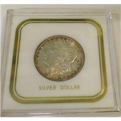 1902 O MS 64 Encapsulated Morgan Dollar