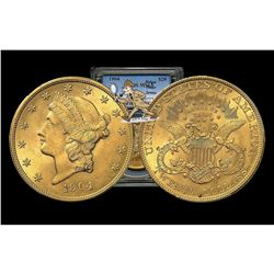 1904 MS 63 PCGS $20 Gold Liberty Double Eagle