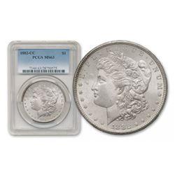 1882 Carson City MS 64 PCGS Morgan Silver Dollar