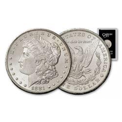 KEY DATE 1881 Carson City GSA Morgan Dollar